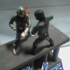 新ライダー1号VS戦闘員