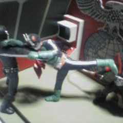 ライダー2号VS戦闘員